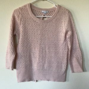 Pink Knitted Sweater by Delia's